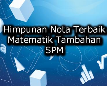 Himpunan Nota Terbaik Matematik Tambahan SPM